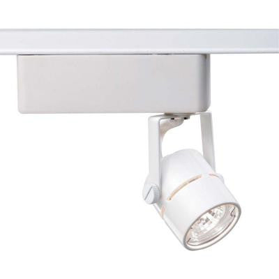 1-Light MR11 12-Volt White Mini Round Track Lighting Head