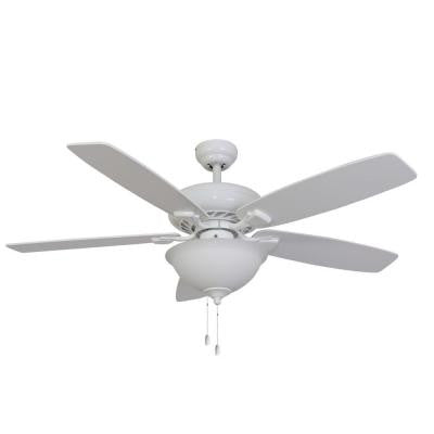 Ardmore 52 in. White Energy Star Ceiling Fan