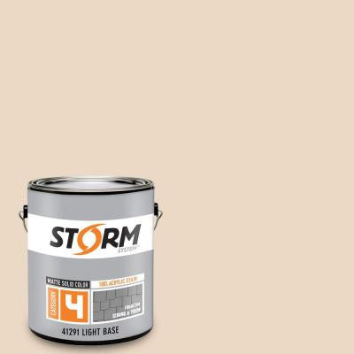 Category 4 1 gal. Sea Scallop Matte Exterior Wood Siding 100% Acrylic Latex Stain