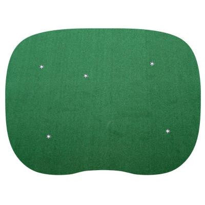 15 ft. x 20 ft. 5-hole Indoor/Outdoor Nylon Practice Putting Green