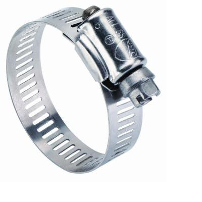 1/2 in. - 1 1/4 in. Stainless Steel Clamp (10 Pack)