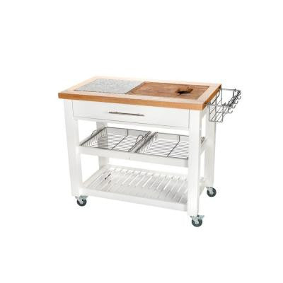 24 in. x 42 in. Chef Kitchen Work Station with Chop and Drop System