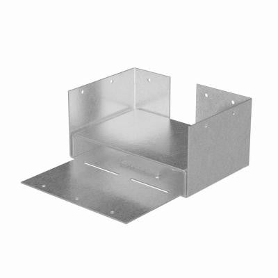 ABW 4x6 Rough ZMAX Galvanized Adjustable Post Base
