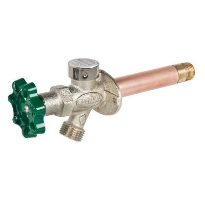 1/2 in. x 12 in. Brass MPT x SWT Heavy Duty Frost Free Anti-Siphon Outdoor Faucet Hydrant