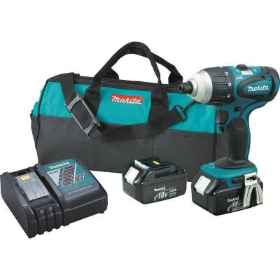 18-Volt LXT Lithium-Ion 1/4 in. Cordless Hybrid Impact Driver Kit