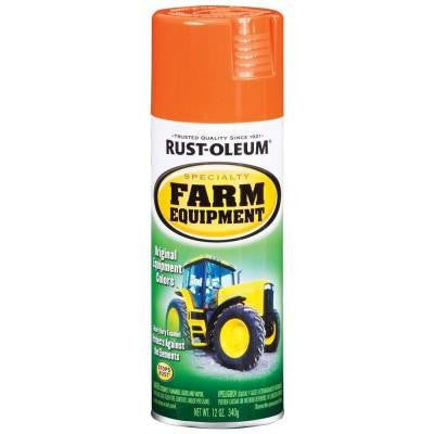 12 oz. Orange Farm Equipment A Chalmers Spray Paint (Case of 6)