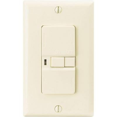 ASPIRE 20-Amp 125-Volt 5-15 NEMA Rating Specification Grade Blank Face GFCI Receptacle - Light Almond