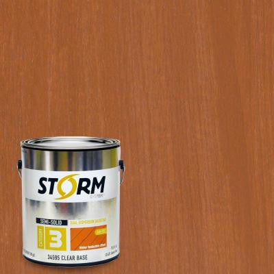 Category 3 1 gal. Cedar Exterior Semi-Solid Dual Dispersion Wood Finish