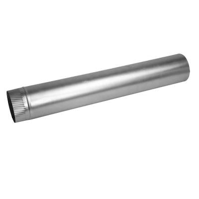 4 in. x 24 in. 26-Gauge Aluminum Rigid Pipe