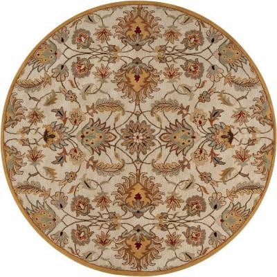 John Gold 8 ft. Round Area Rug