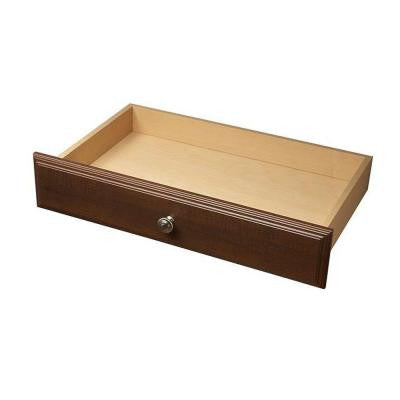 4 in. x 24 in. Espresso Deluxe Drawer Kit