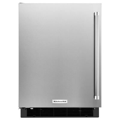 4.9 cu. ft. Undercounter Mini Refrigerator in Stainless Steel