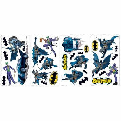 5 in. x 11.5 in. Batman Gotham Guardian 31-Piece Peel and Stick Wall Decals
