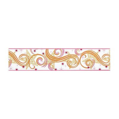6.75 in. H Star Glitter Border