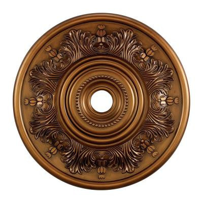 Laureldale 30 in. Antique Bronze Ceiling Medallion