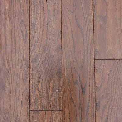 Oak Molasses Hand Sculpted 3/4 in. Thick x 4 in. Wide x Random Length Solid Hardwood Flooring (17 sq. ft. / case)