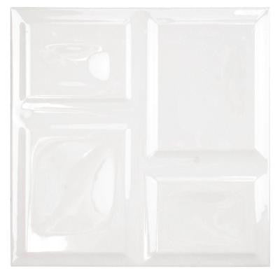Magna Deco Pearl 8 in. x 8 in. Ceramic Wall Tile (11.8 sq. ft. / case)