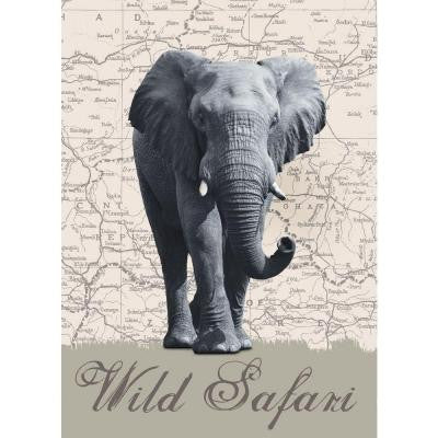100 in. x 72 in. Wild Safari Wall Mural