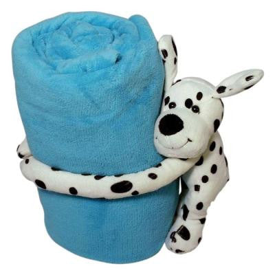 Puppy Dog Polyester Micro Plush Throw
