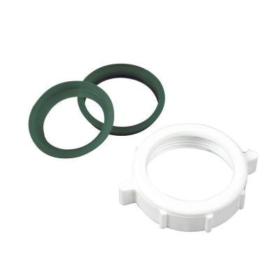 1.5 in. Plastic Slip Joint Nut with Washer