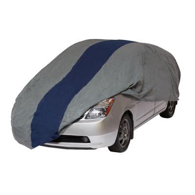 Double Defender Hatchback Semi-Custom Car Cover Fits up to 15 ft. 2 in.
