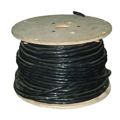 500 ft. 6-3 Tray Cable W/G Black