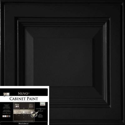 2 qt. Black Deco Cabinet Paint Kit