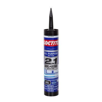 10 fl. oz. Black 2-in-1 Seal and Bond All-Purpose Sealant (12-Pack)