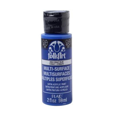 2 oz. Cobalt Blue Multi Surface Paint