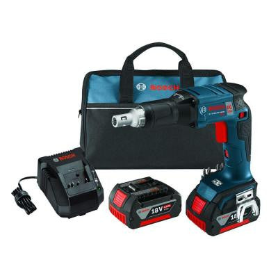 18-Volt Lithium-Ion Cordless Brushless Screwgun Kit