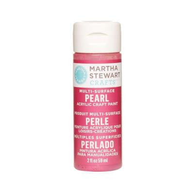 2-oz. Fruit Punch Multi-Surface Pearl Acrylic Craft Paint