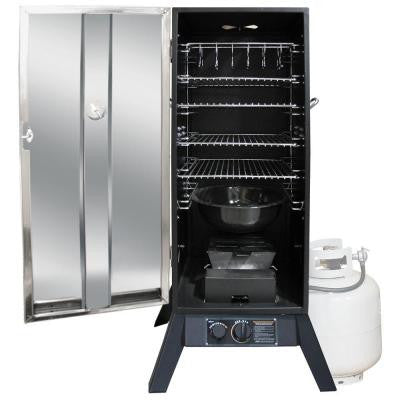 36 in. Vertical Propane Gas Smoker