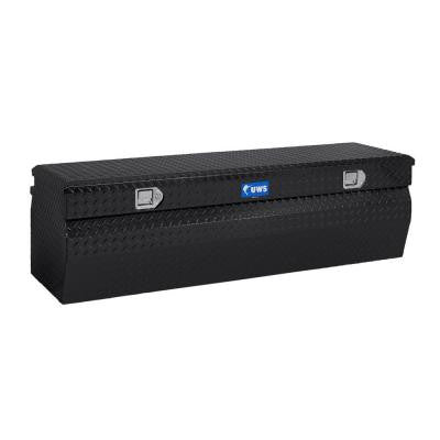 36 in. Aluminum Black Chest Box with Wedge