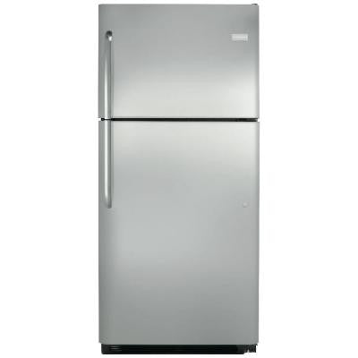 20 cu. ft. Top Freezer Refrigerator in Stainless Steel