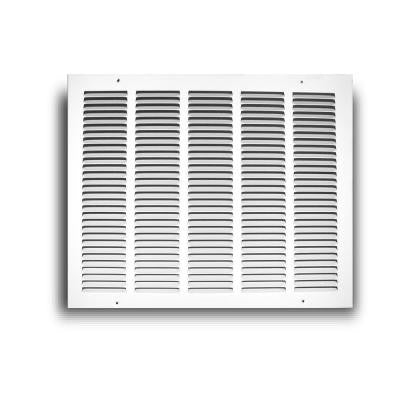 24 in. x 10 in. White Return Air Grille