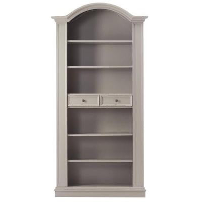 Christina Grigio Carmine 6-Shelf Open Bookcase