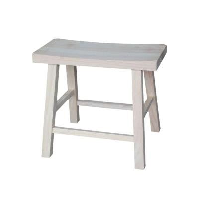 18 in. Saddle Seat Stool