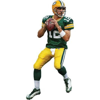 41 in. x 77 in. Aaron Rodgers Wall Decal