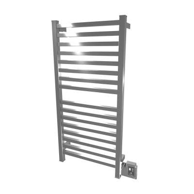 Quadro Q-2042 20.5 in. W x 42.75 in. H Towel Warmer (16 Bars) in Brushed Stainless Steel