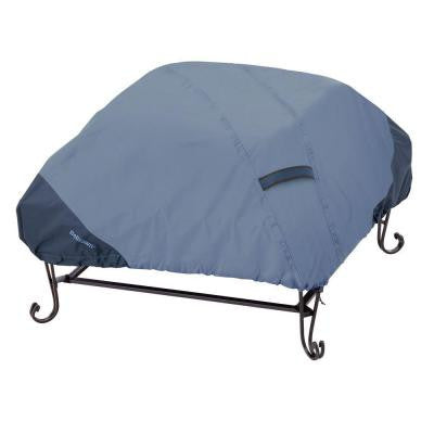 Belltown 40 in. Skyline Blue Square Patio Fire Pit Cover
