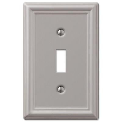 Chelsea 1 Toggle Wall Plate - Nickel