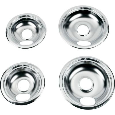 Drip Bowl Set for Electric Ranges (4-Pack)