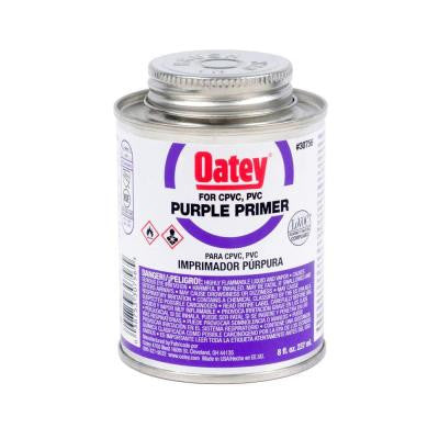 8 oz. PVC and CPVC Purple Primer