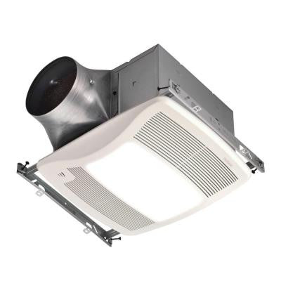 ULTRA GREEN with Humidity Sensing 110 CFM Ceiling Exhaust Bath Fan with Humidity Sensing and Light, ENERGY STAR