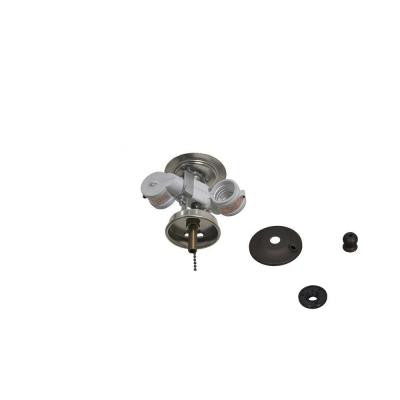 Larson 52 in. Oil Rubbed Bronze Ceiling Fan Replacement Light Kit