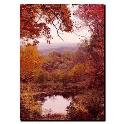 14 in. x 19 in. The Cuyahoga Valley Canvas Art