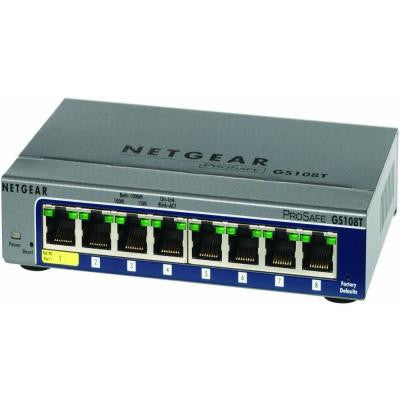 8-Port 10/100/1000MBPS Switch