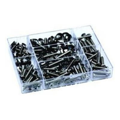 Stainless Deluxe Fastener Kit (168-Piece )