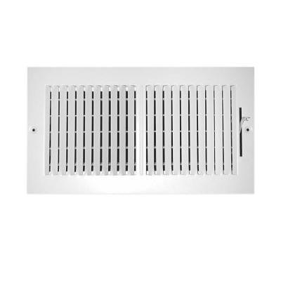 10 in. x 6 in. 2-Way Wall/Ceiling Register