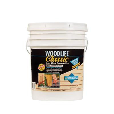 5-gal. Classic Clear Above Ground Wood Preservative